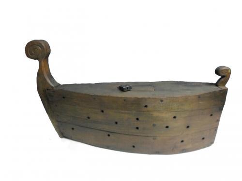 Odjeljenje za etnologiju, materijalna kultura, pribor za ribolov, barka za ribu