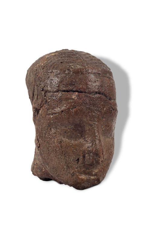 arheologija prahistorija figura glave