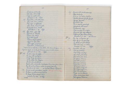 etnologija duhovna kultura rukopisna zbirka