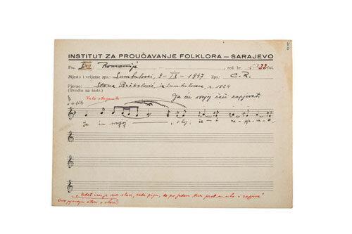 etnologija duhovna kultura slavska pjesma