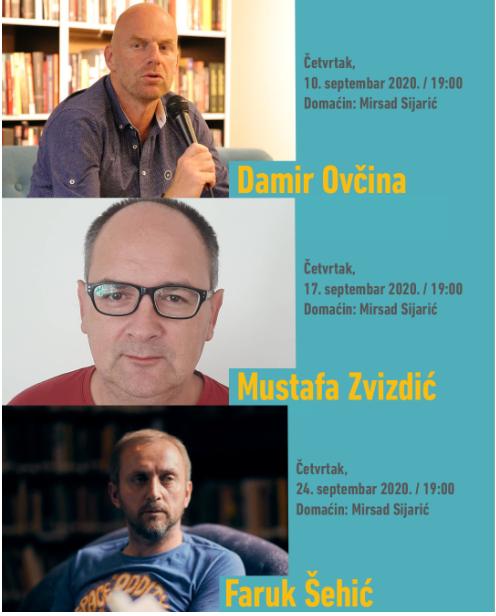 Pisci u Zemaljskom muzeju BiH: Ovčina, Zvizdić, Šehić