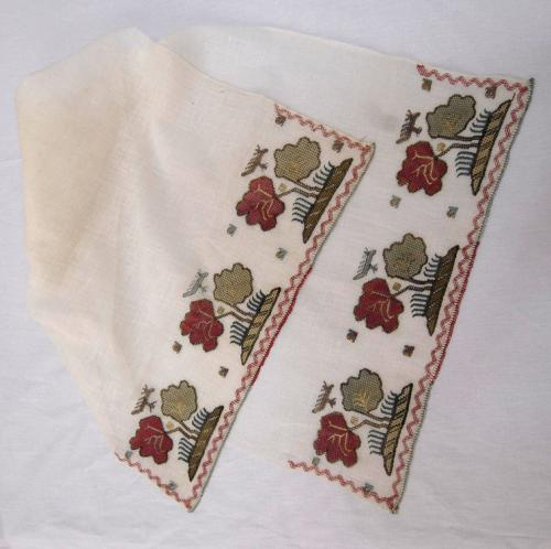 Deparment for Ethnology, Material Culture, Collection of house textiles,Embroidered kerchief – jagluk