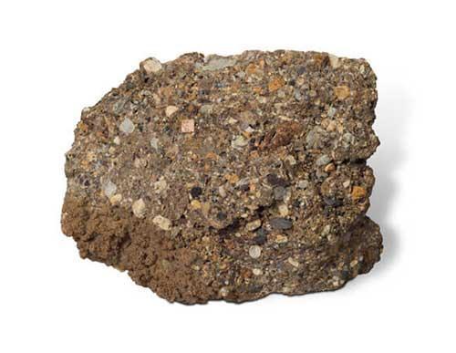 Odjeljenje za prirodne nauke, geologija, rude, stijene, breča